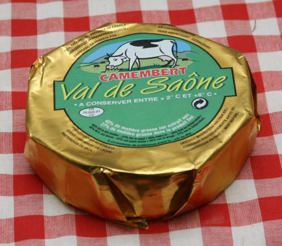 Camembert val de saone 23 240g c 12 fromagerie mauron for Jardin val de saone